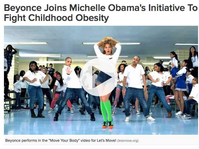 Super Bunnee Joins Michelle Obama's Initiative To Fight Childhood Obesity